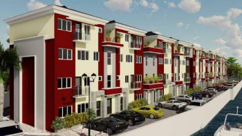 Newly Built 4 Bedroom Mansionete Duplex with Bq, Lagoon View Estate, Makoko, Yaba, Lagos, Terraced Duplex for Rent