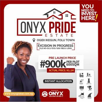 Land, Folu Ise Town, Onyx Pride Estate, Folu Ise, Ibeju Lekki, Lagos, Commercial Land for Sale