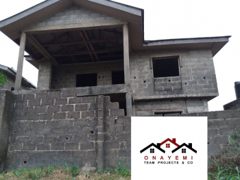 Beautiful Uncompleted 4 Bedroom Flats, Close to Adefisan Market, Ijebu Ode, Ogun, Flat for Sale