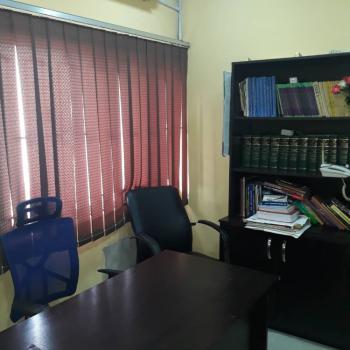 a Very Good 2 Bedroom Office Space with Toilet., Curtis Jones Off Adeniran Ogunsanya.  ., Adeniran Ogunsanya, Surulere, Lagos, Office Space for Rent
