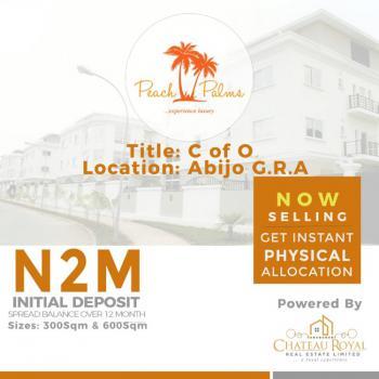 Estate Land with C of O, Peach Palm Estate, Abijo G.r.a, Sangotedo, Ajah, Lagos, Mixed-use Land for Sale