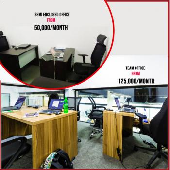 Shared Office Or Private Office for 1 Or Up to 7 Team, The City Mall Tbs, Onikan, Lagos Island, Lagos, Office Space for Rent