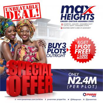 Land, Onitsha, Anambra, Residential Land for Sale
