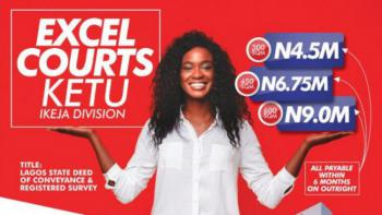 Dry Land, Excel Courts, Ketu, Lagos, Residential Land for Sale