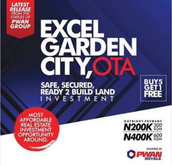 Dry Land, Excel Garden City, Ado-odo/ota, Ogun, Residential Land for Sale
