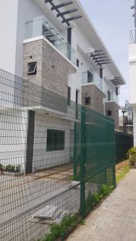 Newly Built Modern Serviced 4 Bedroom Terrace Houses on 3 Floors, Gated Osborne 1 Foreshore Estate Ikoyi., Osborne, Ikoyi, Lagos, Terraced Duplex for Rent