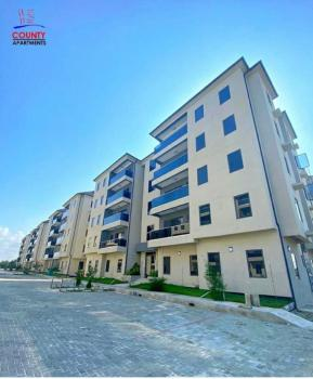 Luxury 10 Units of 3 Bedrooms Flats in a Secured Estate, By Chevron, Lekki Phase 1, Lekki, Lagos, Block of Flats for Sale