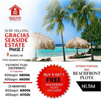 Land and Registered Survey, Beach Front Court Gracias Seaside, Akodo Ise, Ibeju Lekki, Lagos, Residential Land for Sale