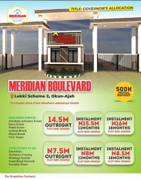 100% Dry Land in a Well Developed Area with Governors Consent Title, Okun-ajah Lekki Scheme 2, Close Proximity to Abraham Adesanya Estate, Ajah, Lagos, Mixed-use Land for Sale