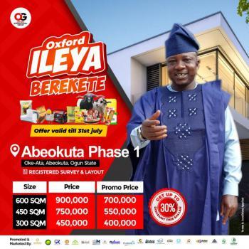 Land, Oke - Ata Abeokuta, Ogun Waterside, Ogun, Residential Land for Sale