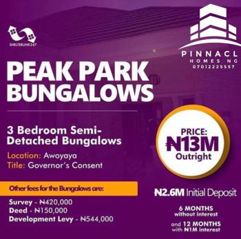 3 Bedroom Semi Detached Bungalows, Awoyaya, Ibeju Lekki, Lagos, Semi-detached Bungalow for Sale