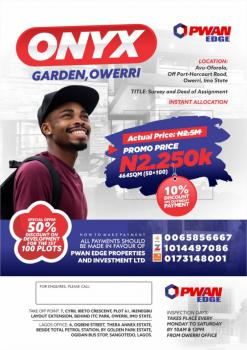 Survey and Deed of Assignment, Avu -oforola Off Port- Harcourt Road, Ngor Okpala, Imo, Mixed-use Land for Sale