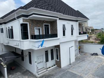 Serviced 4 Bedroom Semi Detached Duplex with Bq, By 2nd Toll Gate Chevron, Lekki, Lagos, Semi-detached Duplex for Sale