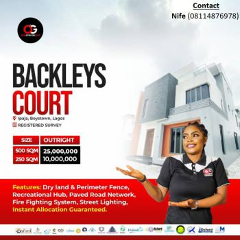 Land, Backlays Court, Boys Town, Ipaja, Lagos, Mixed-use Land for Sale