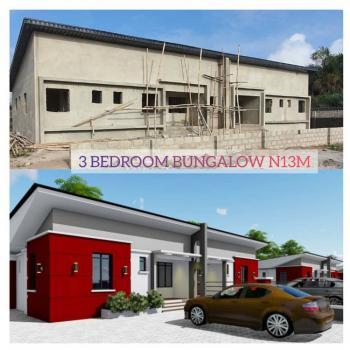 Spacious 3 Bedroom Semi-detached Bungalow, Oribanwa Awoyaya, Ajah, Lagos, Semi-detached Bungalow for Sale