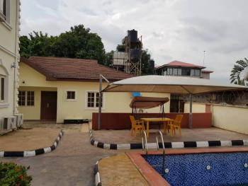 Fully Serviced and Furnished 4 Bedroom Guest Chalet with Swimming Pool, Main Asokoro, Asokoro District, Abuja, Detached Bungalow for Rent