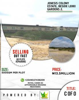 500sqm Land with C of 0, Lekki Gardens Phase 2, Lekki, Lagos, Residential Land for Sale