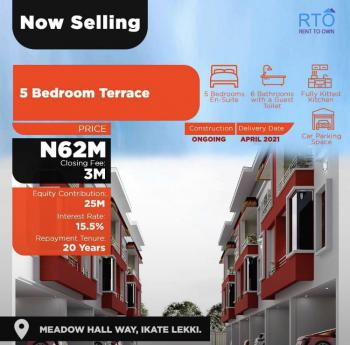 Luxurious Duplex with Quality and Modern Internal Finishes, Ikate, Lekki, Lagos, Terraced Duplex for Sale