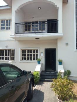 Four (4) Bedroom Semi Detached House with Bq in Serviced Estate, Dideolu Estate, Victoria Island Extension, Victoria Island (vi), Lagos, Semi-detached Duplex for Sale