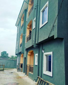 Newly Built 2 Bedrooms Flat with 3 Toilets, Magistrate Court Elimgbu, Off Rumuokwurusi Tank, Port Harcourt, Rivers, Flat for Rent