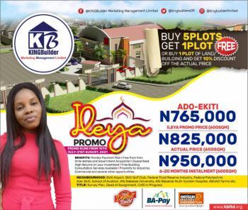Land, Orisun Estate, Ado-ekiti, Ekiti, Residential Land for Sale