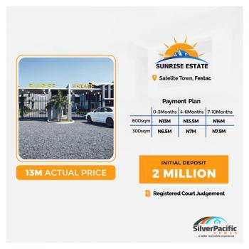 Land at Sunrise Estate, Satellite Town, Festac, Amuwo Odofin, Lagos, Mixed-use Land for Sale