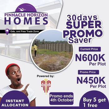 Pinnacle Horizon Estate Land., 30mins Drive After Dangote Refinery, Ode Omi., Ikegun, Ibeju Lekki, Lagos, Mixed-use Land for Sale