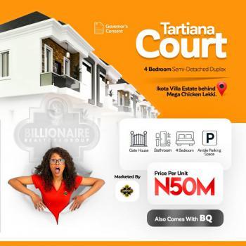 12 Months Off Plan on Tatiana Courts, Ikota, Lekki, Lagos, Detached Duplex for Sale