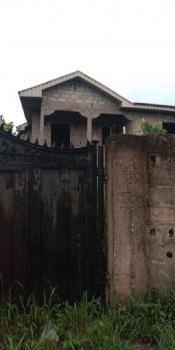 Uncompleted But Roofed Duplex., Left Hand Side of Ofada Secondary School., Mowe Ofada, Ogun, Terraced Duplex for Sale
