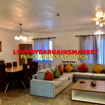 Fantastic Deal, Fully Furnished 3 Bedrooms Apartment, Old Ikoyi, Ikoyi, Lagos, Flat Short Let