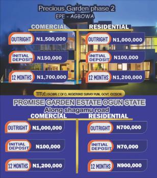 C of O Land in a Strategic Location, Promise Garden Estate, Sagamu, Ogun, Mixed-use Land for Sale