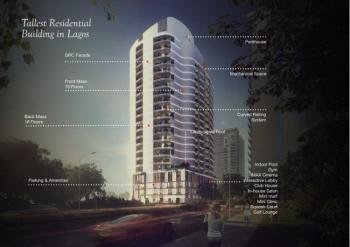 5 Bedroom Automated  Waterfront Luxury Penthouse, Banana Island, Ikoyi, Lagos, Flat for Sale