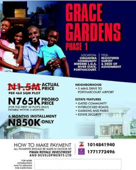 Estate in Dry Land, Omuanwa Community Ikwerre L.g.a River State, Ikwerre, Rivers, Mixed-use Land for Sale