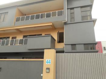 Newly Built 3 Bedrooms Flat (office Use), Off Freedom Way, Lekki Phase 1, Lekki, Lagos, Flat for Rent