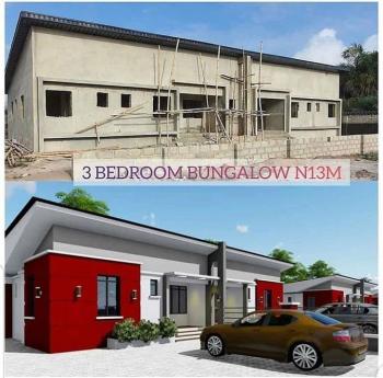 3 Bedrooms Luxury Bungalow, Greenland Estate, Sangotedo, Ajah, Lagos, Semi-detached Bungalow for Sale