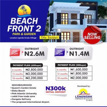 House, Igando Orudu Town, Off Eleko Road, Beachfront Park & Gardens Estate 2, Eleko, Ibeju Lekki, Lagos, Block of Flats for Sale