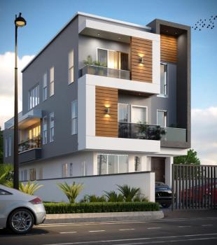 5 Bedroom Fully Detached with a Bq and a Pool, Ado Road Walking Distance From Ajah Bus Stop, Ajah, Lagos, House for Sale