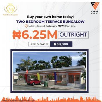 2 Bedroom Terrace Bungalow, Ibukun Aro,, Mowe Town, Ogun, Terraced Bungalow for Sale