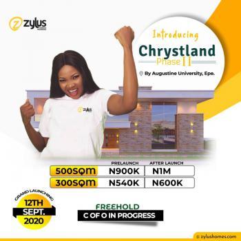 Good Land, Chrystland Estate Phase Ii, Epe, Lagos, Land for Sale