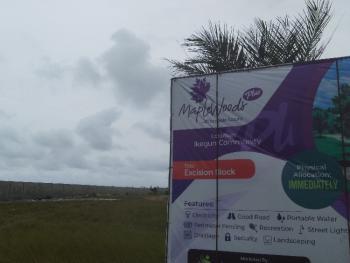 Excision Block, Community, Maplewood Plus, Ikegun, Ibeju Lekki, Lagos, Mixed-use Land for Sale