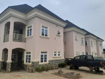 Nice 4 Bedroom Terrace Duplex, By Human Right Radio, Games Village, Kaura, Abuja, Terraced Duplex for Rent