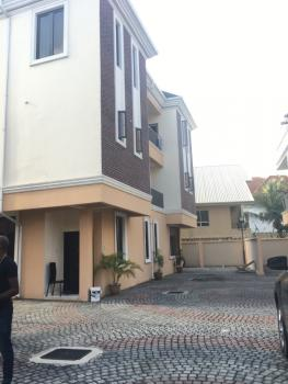 Newly Built 5 Bedroom Semi Detach on 3 Floors with Bq, Osapa, Lekki, Lagos, Semi-detached Duplex for Sale