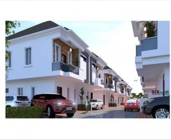 Tastfully Finished & Luxury 4 Bedroom Semi Detached Duplex with a Bq, Behind Mega Chicken, Via Ikota Villa Estate, Ikota, Lekki, Lagos, Semi-detached Duplex for Sale