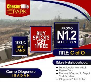 Residential Land in a Serene Environment, Camp Ologuneru, Eleyele,, Ibadan North-west, Oyo, Residential Land for Sale