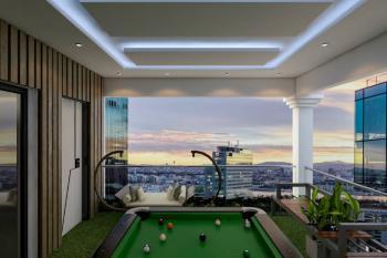 Luxury One Bedroom Apartment with Beachfront View, Attican Beach, Ajah, Lagos, Mini Flat Short Let