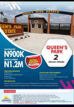 Dry Land, Queen Parks Estate, Mowe Ofada, Ogun, Mixed-use Land for Sale