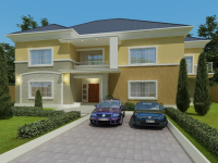 New Territory Estate Now on Sale!!! 5 Bedroom Detached Duplex with B/q, New Territory Estate, Phase 3, Kuje Fct., Kuje, Abuja, Detached Duplex for Sale