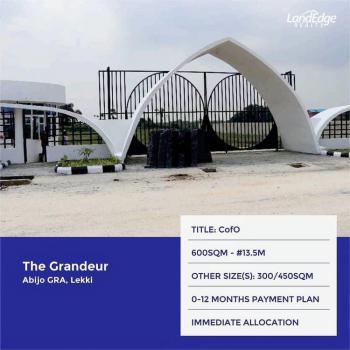 Dry Land, Grandeur Estate, Abijo, Lekki, Lagos, Residential Land for Sale