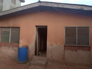 Demolishable Bungalow on One and Half Plot in a Serene Environment, Adewole Street Egbeda Lagos, Close to Olugbede Market, Egbeda, Alimosho, Lagos, Mixed-use Land for Sale