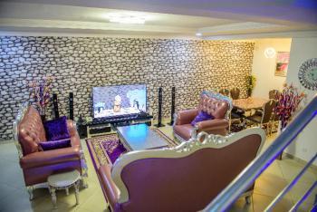 Luxury 4 Bedroom Semi-detached Home Away From Home Apartment., 20, Mekunwen Road, Brains & Hammers Estate, Life Camp, Abuja, Semi-detached Duplex Short Let